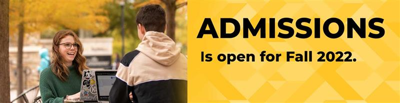 Learn more about admissions